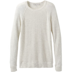 Prana Milani Felpa girocollo Donna, moonlight heather